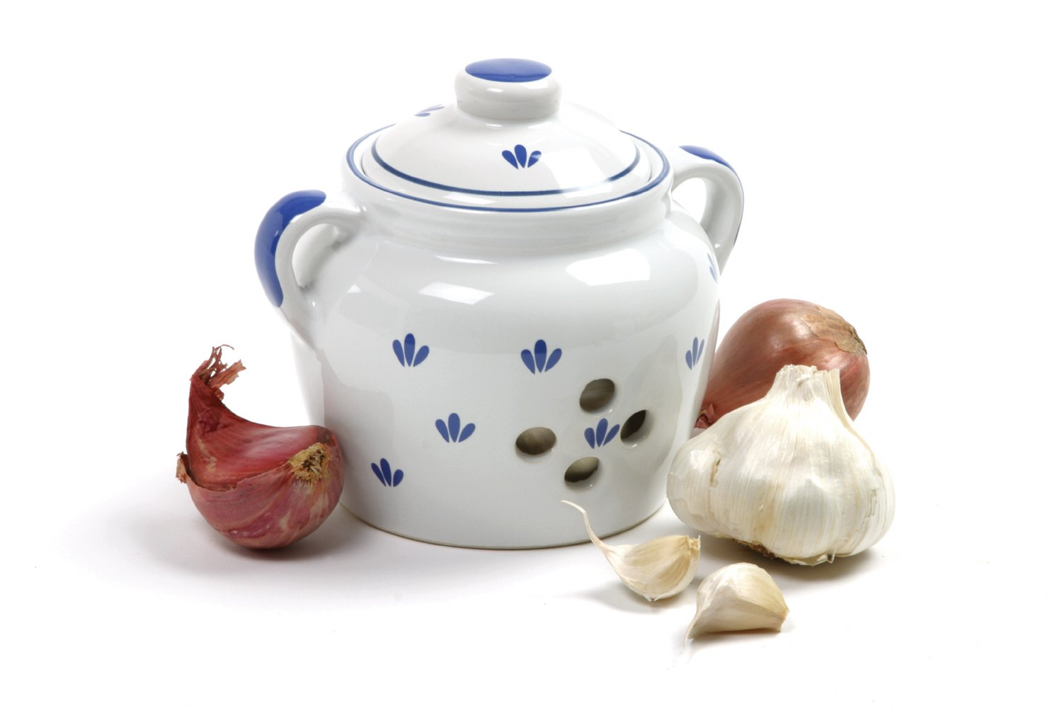 Norpro 250 5-Inch Ceramic Garlic Keeper
