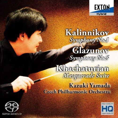 Les symphonies de Glazounov 61ZQkGnE5GL