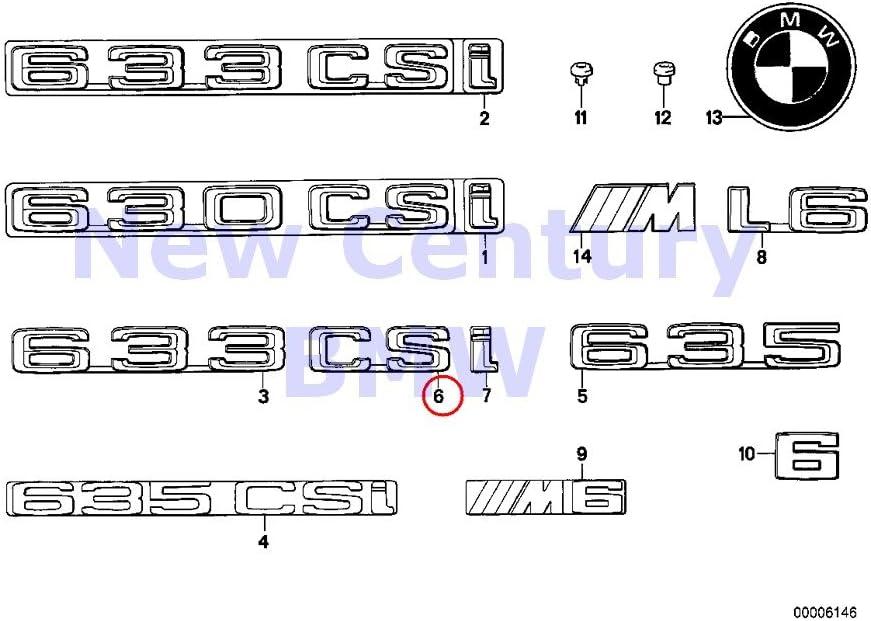 Chrome Letters Trunk Lid Rear Emblem Badge for BMW 2 series 216d