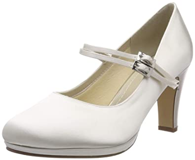 Rainbow Club Brautschuhe Annette, Ivory Satin (Bliss), 36  Amazon.de ... 5d23859ec6