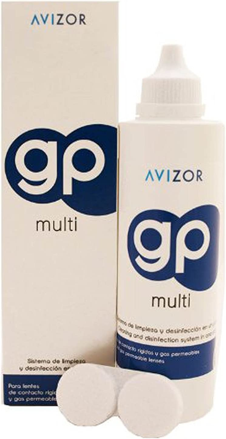 Avizor Gp Multi Contact Lens Solution For Rigid And Gas Permeable Contact Lenses 240ml Amazon Co Uk Health Personal Care
