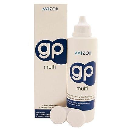 8229babc3c Avizor GP Multi Solución de lente de contacto para rígido y Gas- permeable  Lentes de