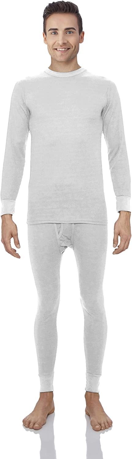 Rocky Thermal Underwear for Men Waffle Thermals Men's Base Layer Long John Set at  Men's Clothing store