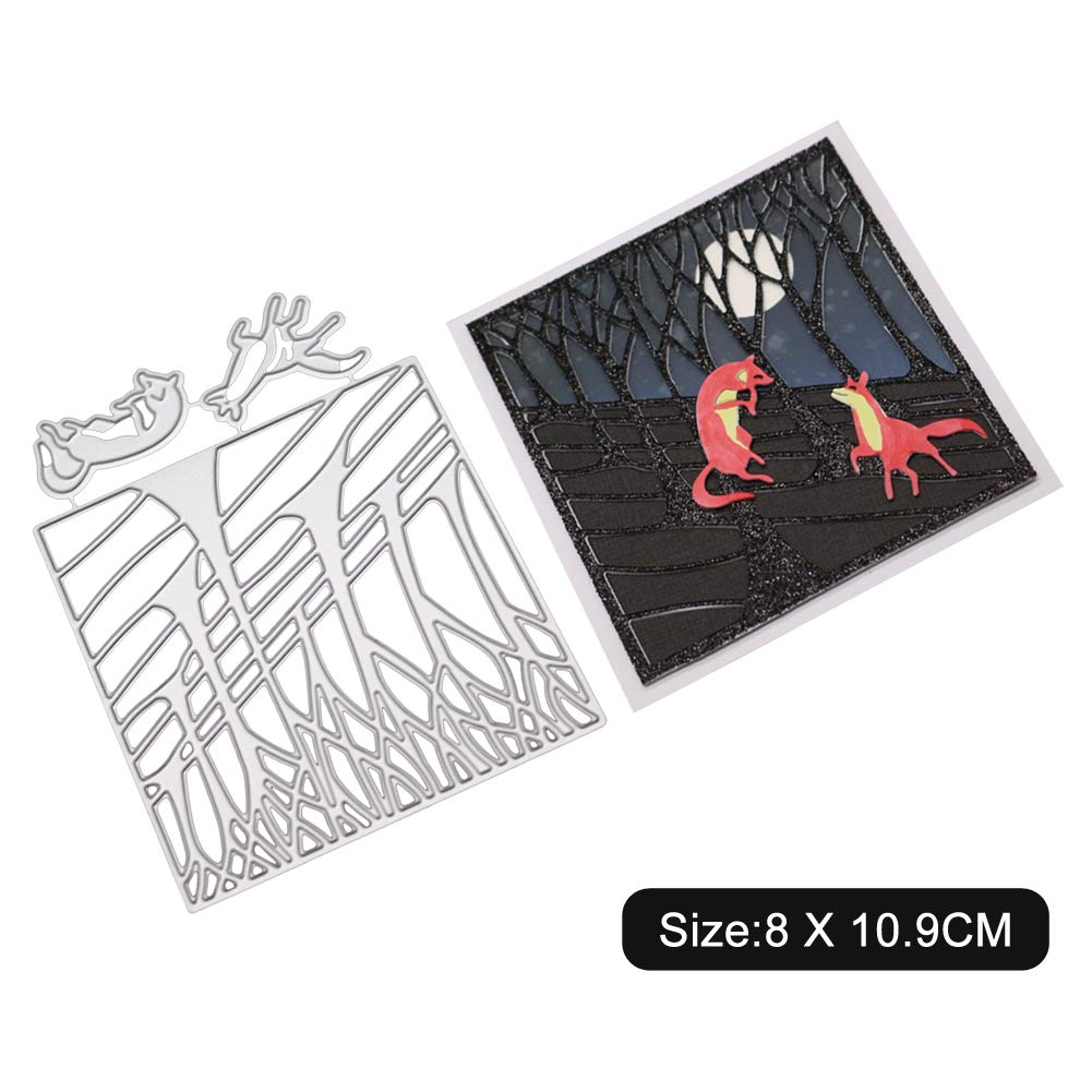 Kaiboo Cutting Dies Stencil for DIY Scrapbooking Album Christmas Card Making Decor Tool Gift Bow card edge