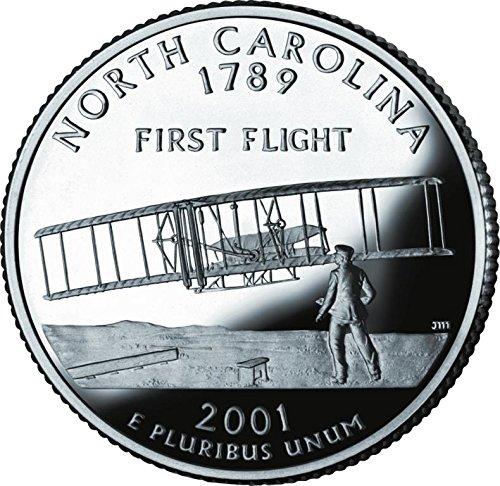 2001 D Bankroll of North Carolina Statehood Uncirculated