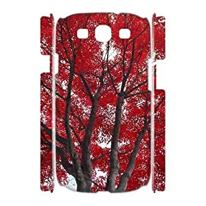 ALICASE Cover Case Maple 3D Diy For Samsung Galaxy S3 I9300 [Pattern-1]