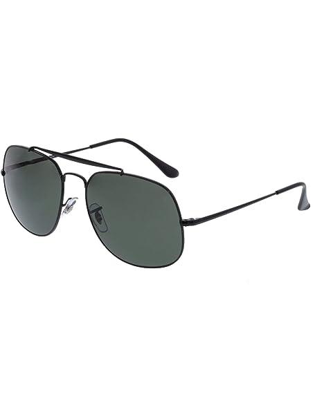 Ray-Ban general polarizado negro clásico verde G-15 57 gafas de sol ...