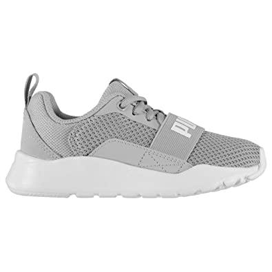 1f1cddf0e1579f Puma Boys Wired Running Trainers  Amazon.co.uk  Shoes   Bags