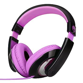 Rockpapa Estéreo Ajustable Auriculares del receptor de cabeza ...