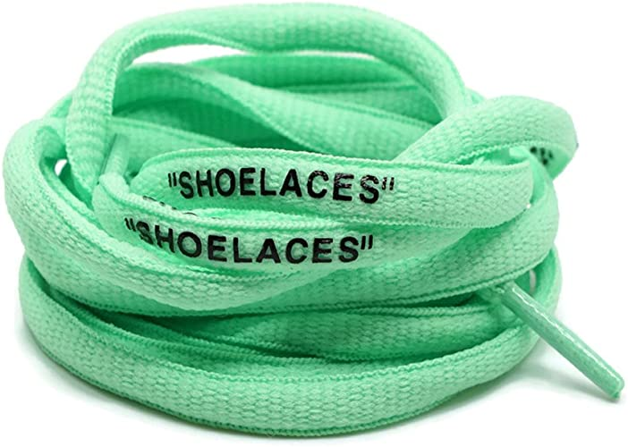 """Off White Replacement Oval /""""SHOELACES/"""""""