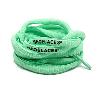 """aa85d4e66 DoctorLaces -""""Shoelaces"""" Oval Shoelaces Off-White  Inspired""""The Ten"""""""