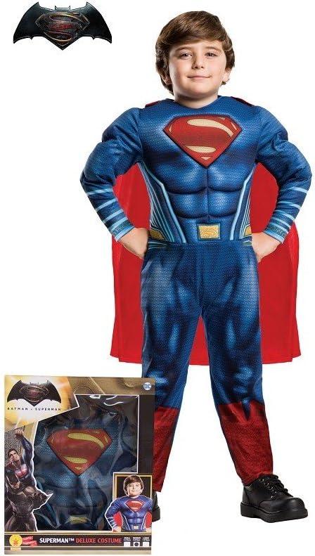 Superman Disfraz para niños, Talla M (Rubies Spain 620432-S ...