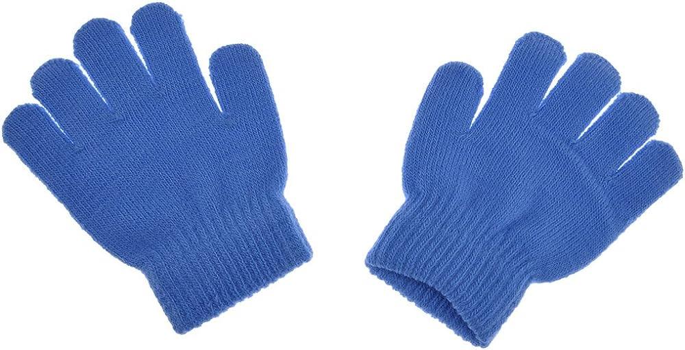 WEKA Baby Winter Warm Full Finger Mittens Kids Soft Acrylic Knitting Magic Gloves