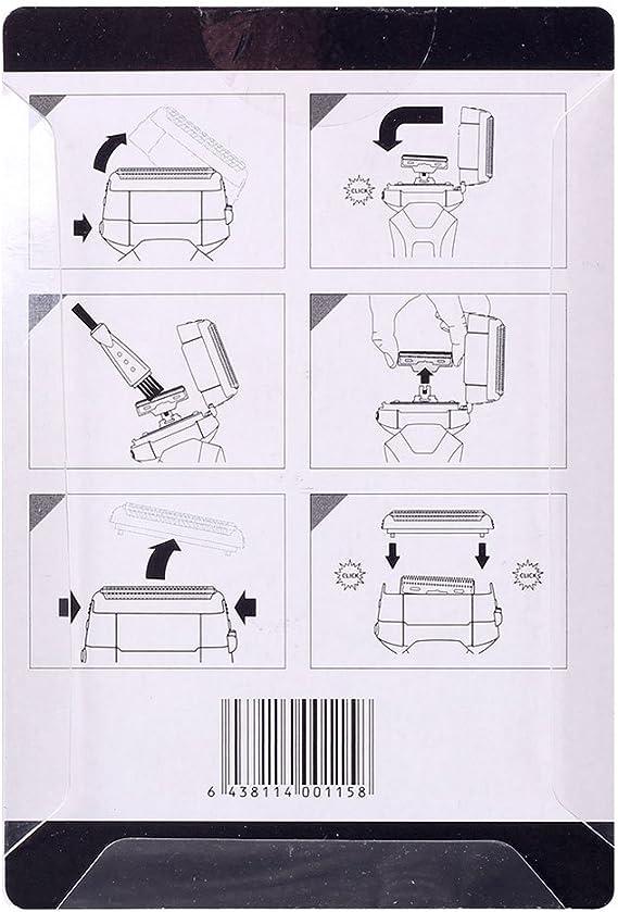 Surker RSCW-9008 cuchilla de repuesto eléctrica y hoja externa para hombres: Amazon.es: Salud y cuidado personal