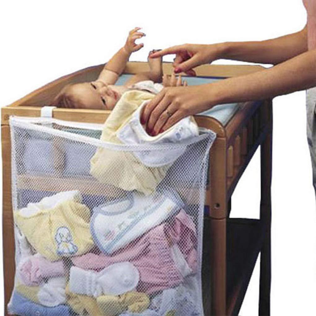 GankmachineCuna Bolsa de Malla reci/én Nacido de Noche Bolsa de pa/ñales para beb/és Parachoques Organizador Bolsa de Ropa del ni/ño de contenedores #1