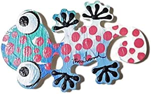 Hot Sale! Thailand Limited Edition Cute Handmade Animal Fridge Magnet for Home Christmas Wedding Decoration (Gecko)