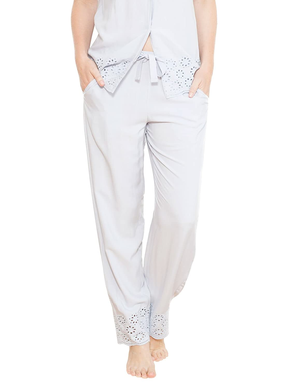Cyberjammies 3688 Women's Beetrix Grey Solid Colour Pajama Pyjama Pant