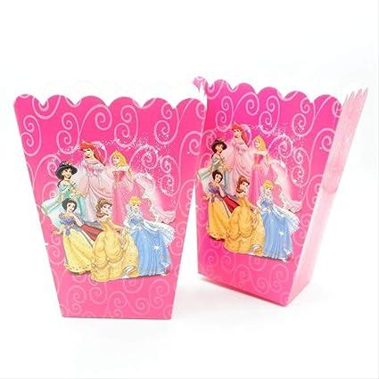 ZMDA Bolsa de regalo 12 piezas/lote de cajas de palomitas de ...