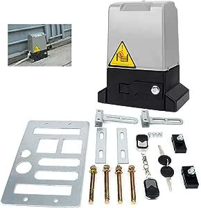 Bespick Kit Motor Puerta Corredera Automático Ajustable ...