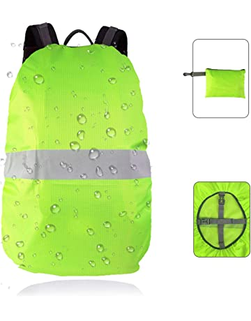 Frelaxy Hi-Visibility Backpack Cover with Reflective Strip 100% Waterproof  Ultralight Backpack Rain Cover 96907e99b9def