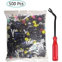 500 Piezas Clips Remaches Plástico, Clips Remaches