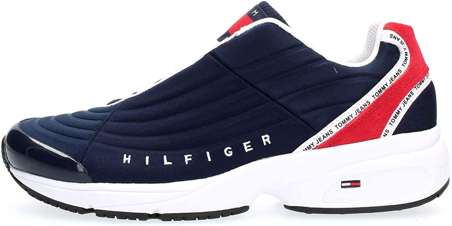 Tommy Hilfiger Heritage Tommy Jeans Sneaker, Zapatillas para Hombre