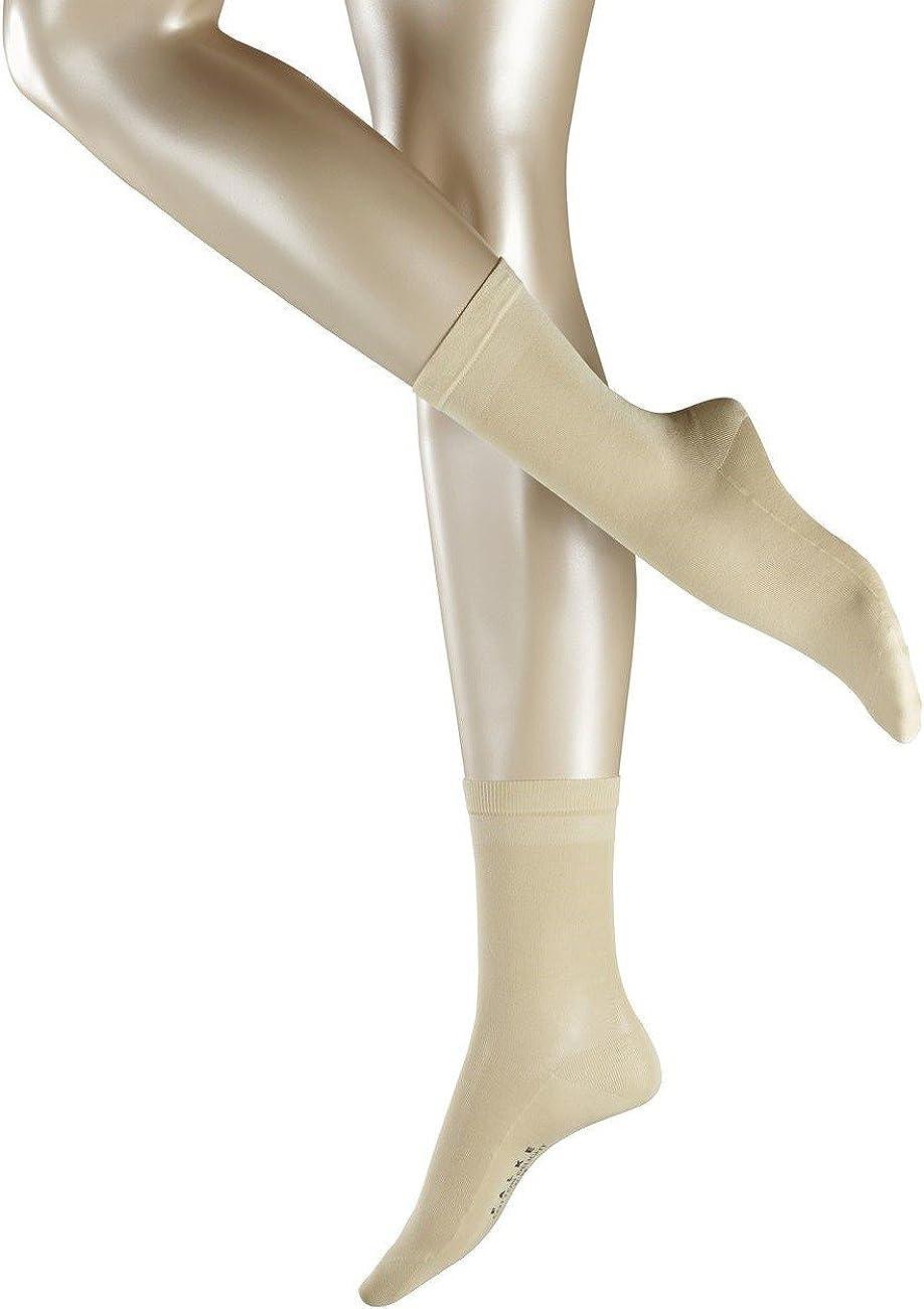 Farben Gr/ö/ße 37-42 Baumwollmischung 1 Paar Eleganter Glanz und raffinierter Look FALKE Damen Socken Cotton Delight leichte mercerisierte Baumwolle Fil dEcosse Versch