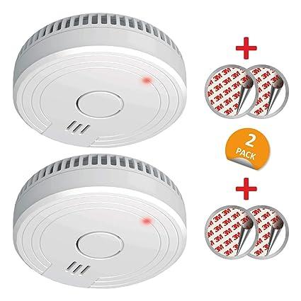 ELRO FS1805 Detectores de Humo Blanco 2 Stück Set de 2 Piezas