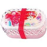 アリエル 2段 ランチボックス (ビビット) ピンク 赤 お弁当箱 ディズニー プリンセス お弁当 グッズ 用品 ( ディズニーリゾート限定 )