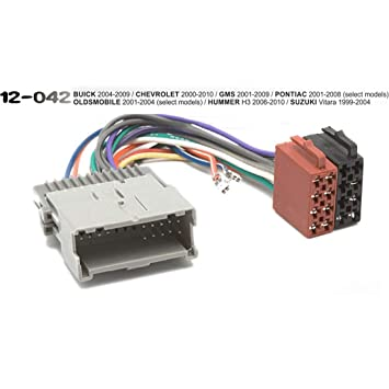 vigorflyrun parts ltd iso standard 12-042 wiring harness radio cable  adaptor for buick chevrolet