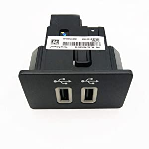 WeifangInspire Dual USB Interface Module for Ford Apple Carplay SYNC3,USB Interface Hub, HC3Z-19A387-B Blue