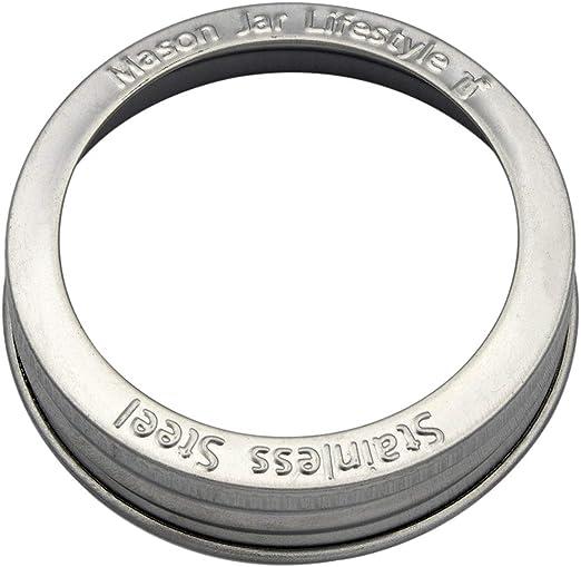 Amazon.com: Bandas/anillos de acero inoxidable resistentes a ...