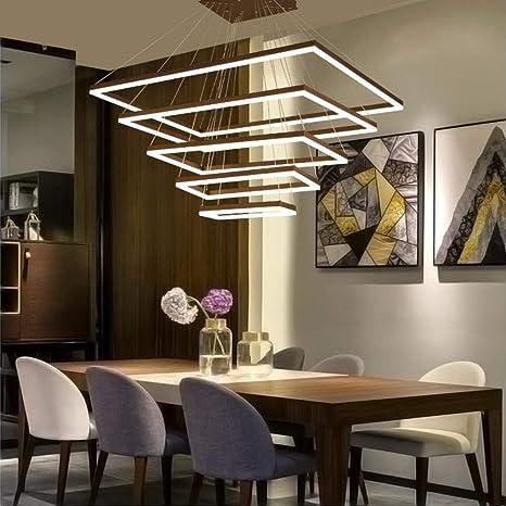 Minimalismo DIY hanglamp Modernas luces colgantes led para ...