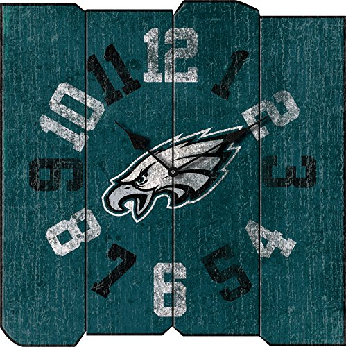Imperial Officially Licensed NFL Merchandise: Vintage Square Clock, Philadelphia -