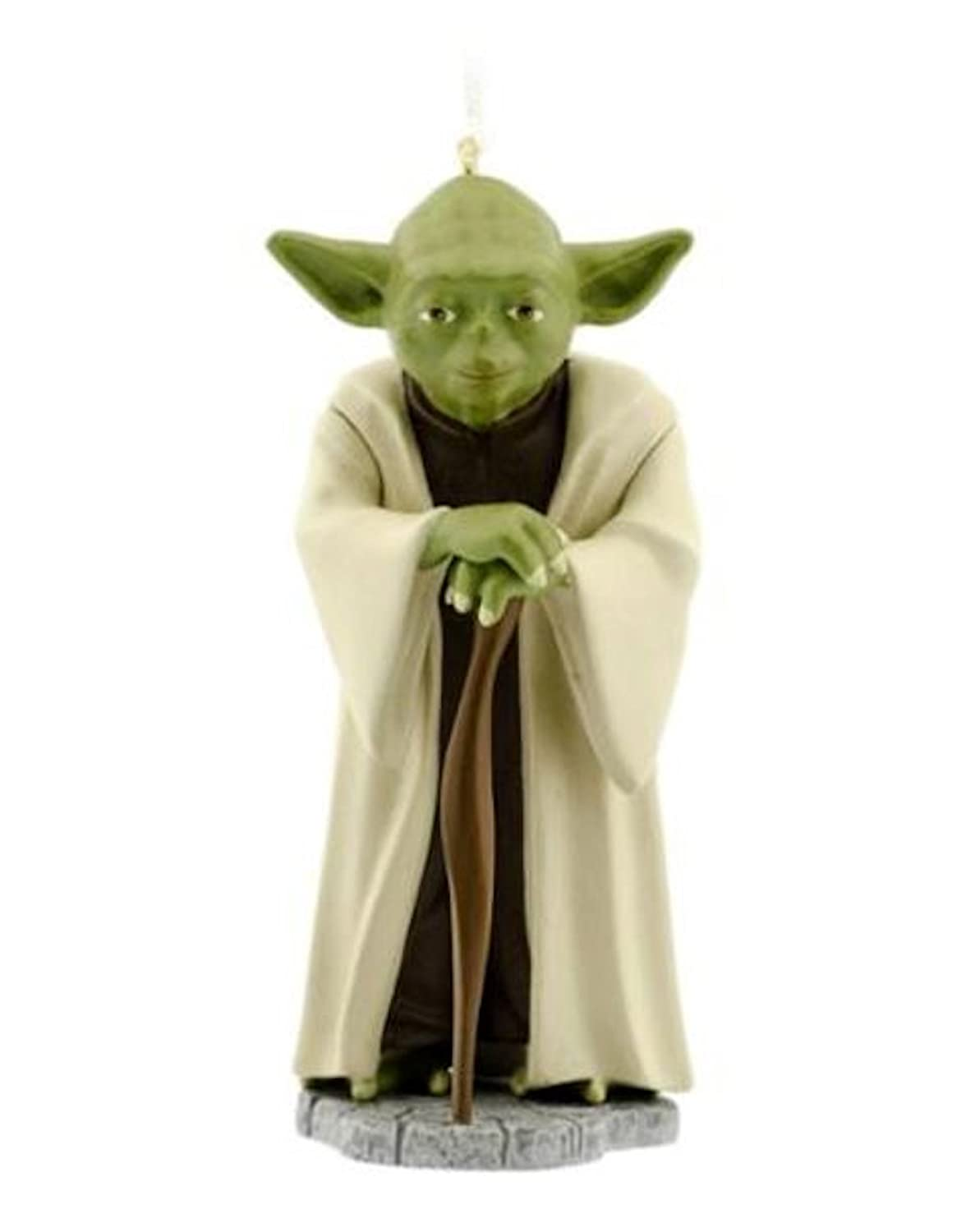 Hallmark Yoda Star Wars Christmas Tree Ornament