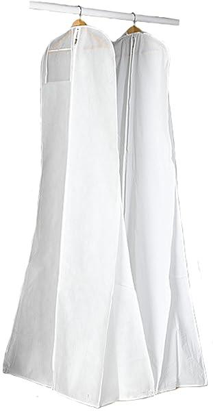Amazon Alicehouse White New Breathable Wedding Gown Train