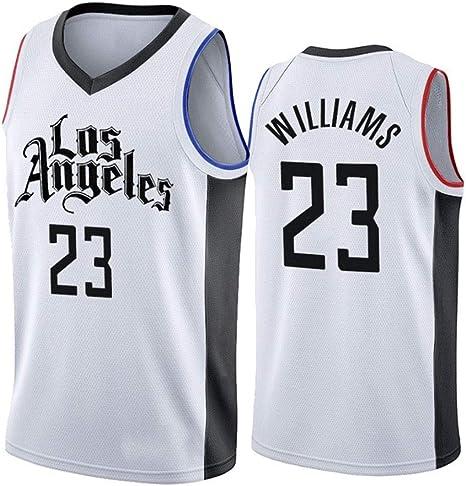 Ciudad Edición Lou Williams 23# Baloncesto Jersey, Uniforme de Los ...