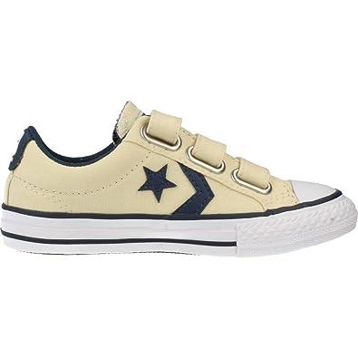 Zapatillas para ni�o, color Amarillo , marca CONVERSE, modelo Zapatillas Para Ni�o CONVERSE CHUCK TAYLOR STAR PLAYER 3V OX Amarillo