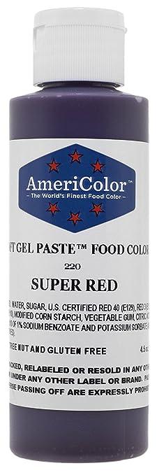 Amazon.com : Americolor 133ml Liquid Gel Food Color, 4.5-Ounce ...