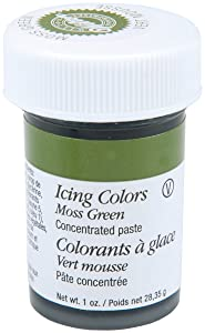 Wilton Icing Colors, 1-Ounce, Moss Green , Packaging May Vary