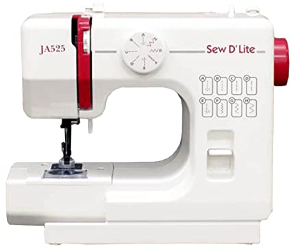 Amazon Janome Compact Electric Sewing Machine [Sew D`lite] Ja40 Custom Sew Lite Sewing Machine Review