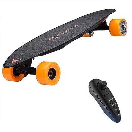 Amazon.com: MaxFind Electric Skateboard, Max Range 23 mph ...