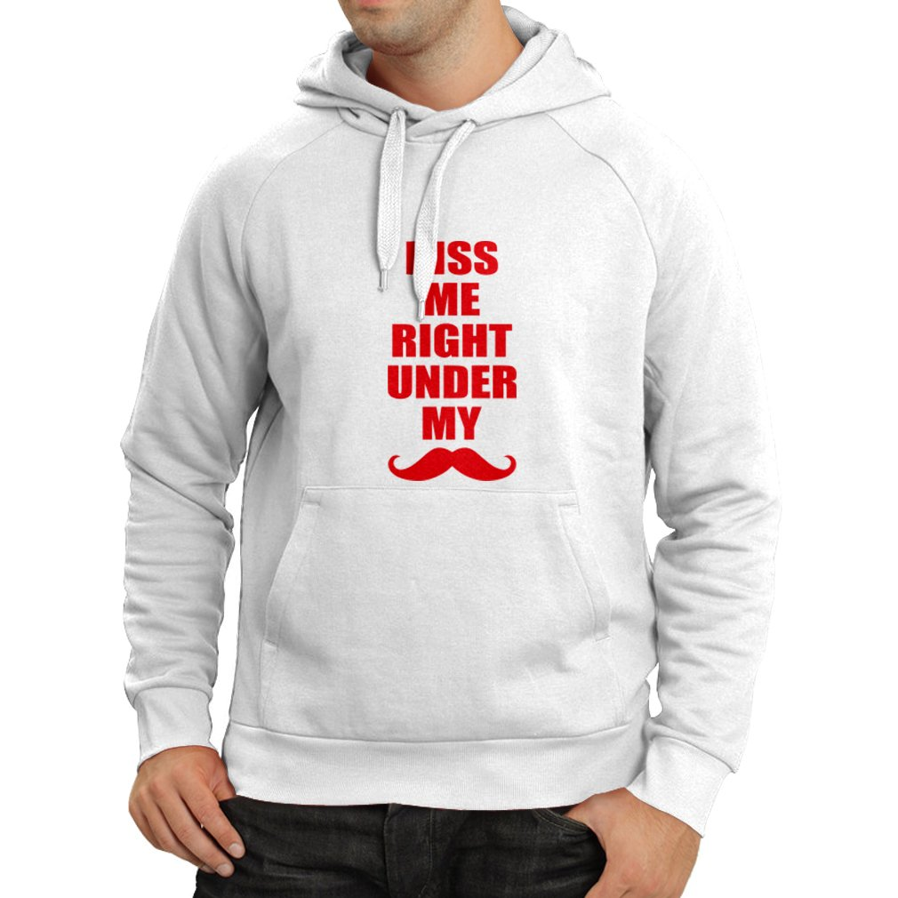 November No Shave lepni.me Unisex Hoodie Kiss me Right Under My Mustache