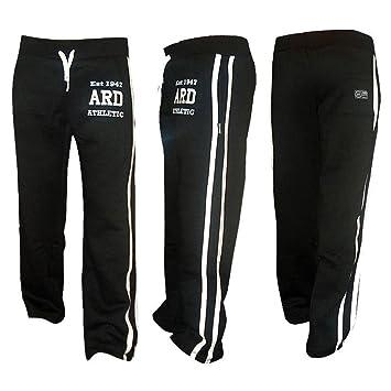 Amazon.com: Men's Joggers Cotton Fleece Jogging Trousers Pants ...