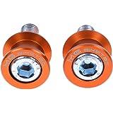Set pions de bras oscillant M10x1,5 alu orange