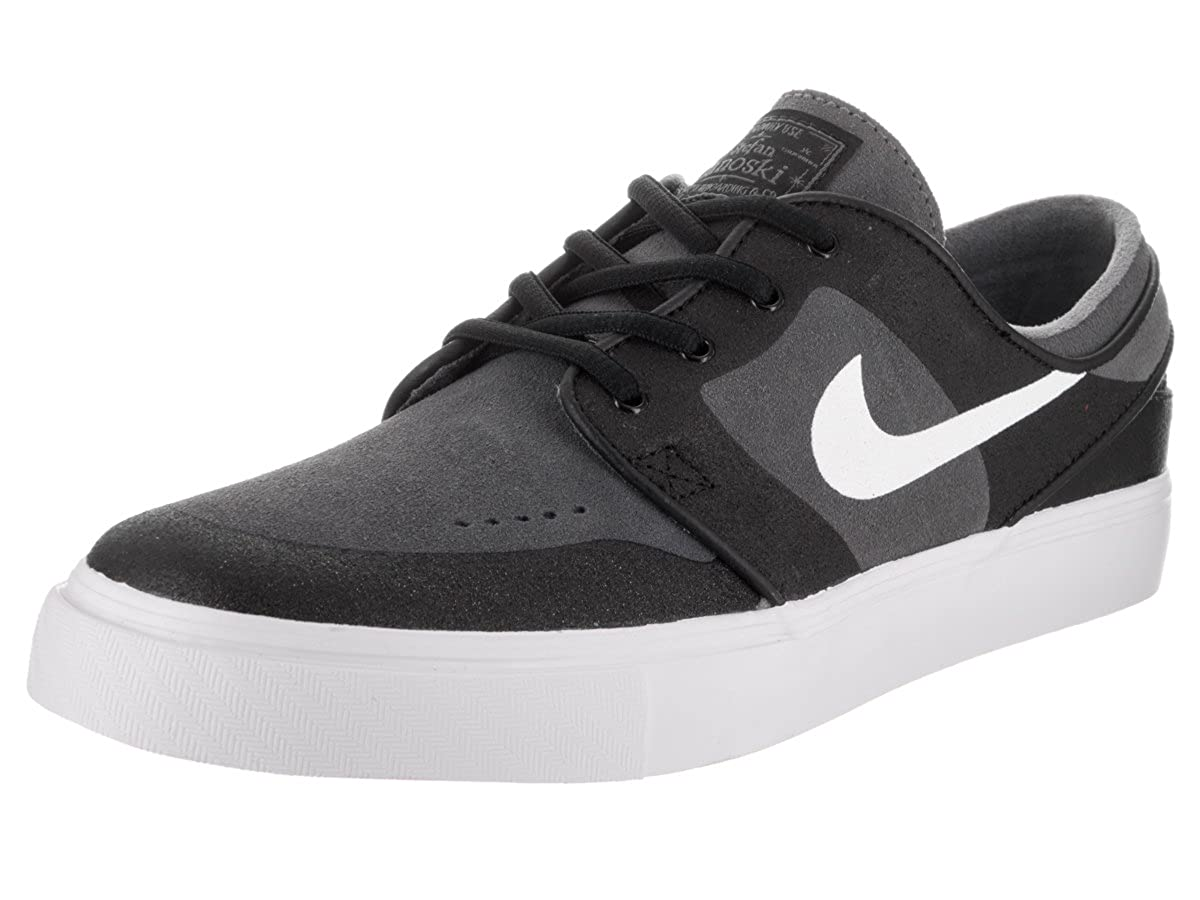 6874fe7cfdc1 Amazon.com  Nike SB Zoom Stefan Janoski Elite Dark Grey White-Black  Shoes