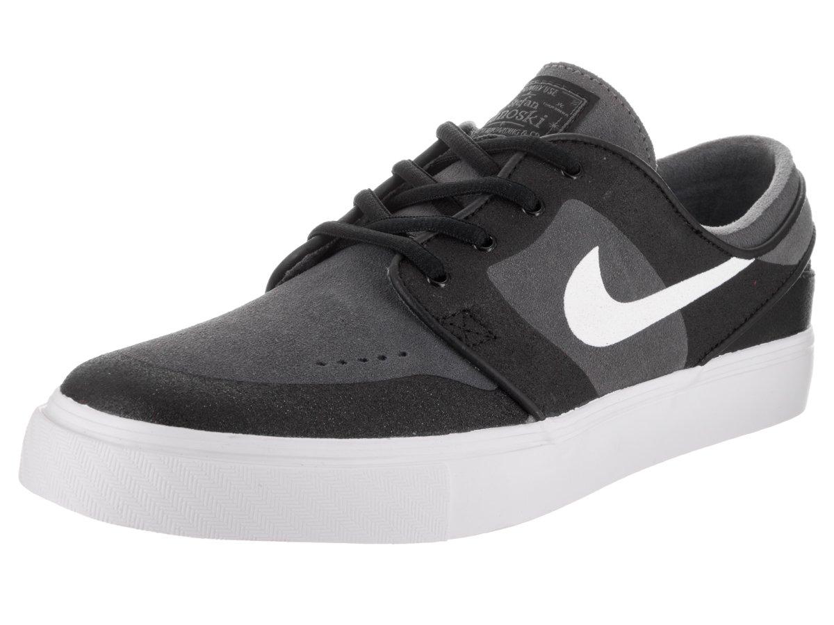 0707535710a10 Black Skate Shoes Mens   Nike mens sb stefan janoski elite dark grey white  black skate