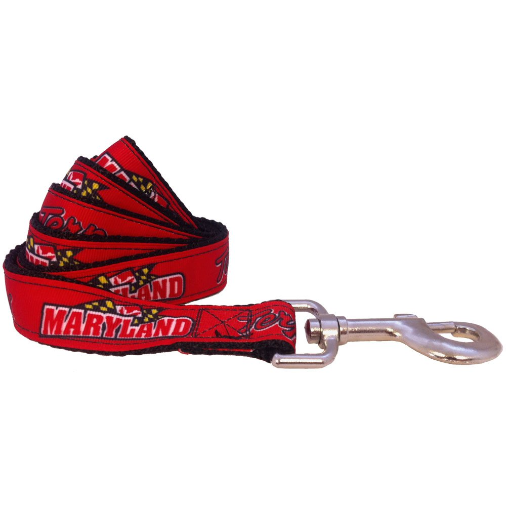 NCAA Maryland Terrapins Dog Leash (Team color, Large)