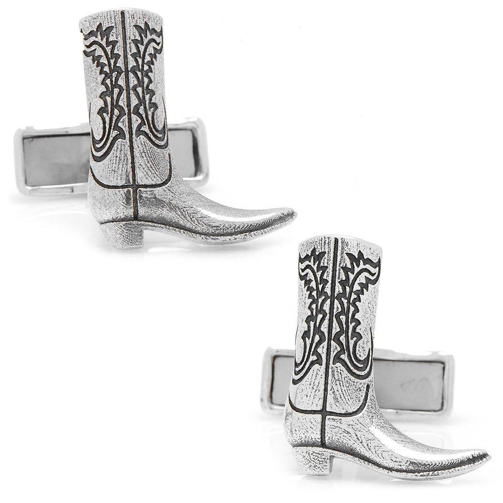 Sterling Boot Cufflinks