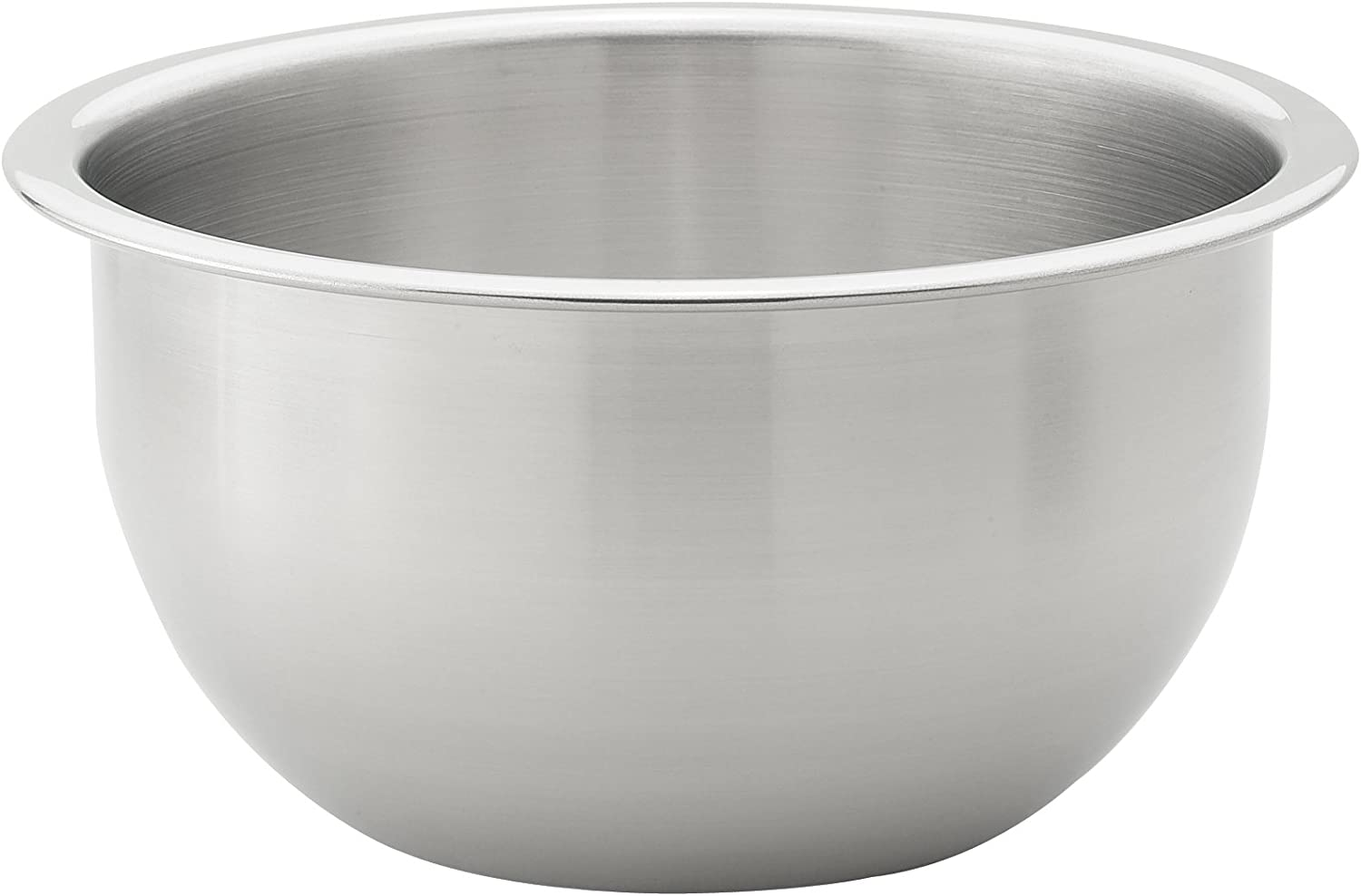 HIC Harold Import Co. 48002 HIC Essentials 4-Quart Stainless Steel Mixing Bowl